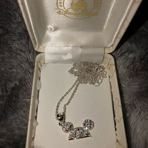 Mickey ears necklace